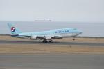 mahlさんが、中部国際空港で撮影した大韓航空 747-4B5の航空フォト(写真)