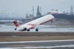 新潟空港 - Niigata Airport [KIJ/RJSN]で撮影された遠東航空 - Far Eastern Air Transport [EF/FAT]の航空機写真