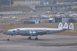 安芸あすかさんが、チューリッヒ空港で撮影したブライトリング・ジェット・チーム C-121C Super Constellation (L-1049F)の航空フォト(飛行機 写真・画像)