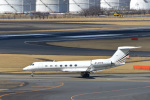 パンダさんが、成田国際空港で撮影したTPS Group Holding Inc G-V-SP Gulfstream G550の航空フォト(写真)