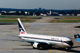 菊池 正人さんが、フランクフルト国際空港で撮影したデルタ航空 767-332/ERの航空フォト(写真)