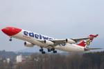 チューリッヒ空港 - Zurich Airport [ZRH/LSZH]で撮影されたエーデルワイス航空 - Edelweiss Air [WK/EDW]の航空機写真