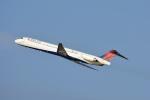 ktaroさんが、デトロイト・メトロポリタン・ウェイン・カウンティ空港で撮影したデルタ航空 MD-88の航空フォト(写真)