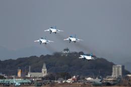 AkiChup0nさんが、名古屋飛行場で撮影した航空自衛隊 T-4の航空フォト(飛行機 写真・画像)