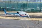 あきらっすさんが、調布飛行場で撮影した東邦航空 AS350B Ecureuilの航空フォト(写真)