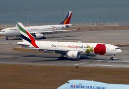 香港国際空港 - Hong Kong International Airport [HKG/VHHH]で撮影されたエミレーツ航空 - Emirates [EK/UAE]の航空機写真