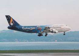 プルシアンブルーさんが、関西国際空港で撮影したアンセット・オーストラリア航空 747-312の航空フォト(飛行機 写真・画像)