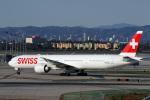 LAX Spotterさんが、ロサンゼルス国際空港で撮影したスイスインターナショナルエアラインズ 777-3DE/ERの航空フォト(写真)