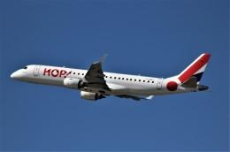 nord-sakuraiさんが、デュッセルドルフ国際空港で撮影したエールフランス・オップ! ERJ-190-100(ERJ-190STD)の航空フォト(飛行機 写真・画像)