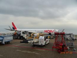 O.TAKUMAさんが、アムステルダム・スキポール国際空港で撮影したエールフランス・オップ! ERJ-190-100 LR (ERJ-190LR)の航空フォト(飛行機 写真・画像)