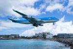 かずまっくすさんが、プリンセス・ジュリアナ国際空港で撮影したKLMオランダ航空 747-406の航空フォト(飛行機 写真・画像)