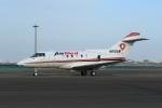 たまさんが、羽田空港で撮影したエア・メディカル・サービス BAe-125-800Aの航空フォト(写真)