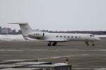 北の熊さんが、新千歳空港で撮影した金鹿航空 G-V-SP Gulfstream G550の航空フォト(飛行機 写真・画像)