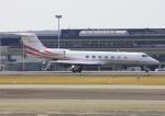 VICTER8929さんが、名古屋飛行場で撮影したトヨタファイナンス G500/G550 (G-V)の航空フォト(写真)
