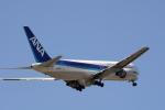 うさぎぱぱさんが、鹿児島空港で撮影した全日空 767-381の航空フォト(写真)