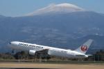 うさぎぱぱさんが、鹿児島空港で撮影した日本航空 767-346/ERの航空フォト(写真)