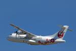 うさぎぱぱさんが、鹿児島空港で撮影した日本エアコミューター ATR-42-600の航空フォト(写真)