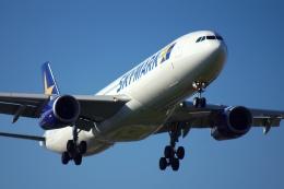 とりぷるろんぐさんが、福岡空港で撮影したスカイマーク A330-343Xの航空フォト(飛行機 写真・画像)