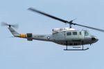 うめやしきさんが、厚木飛行場で撮影したアメリカ空軍 UH-1N Iroquoisの航空フォト(飛行機 写真・画像)