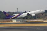 セブンさんが、成田国際空港で撮影したタイ国際航空 777-3D7の航空フォト(飛行機 写真・画像)