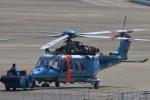 reonさんが、名古屋飛行場で撮影した富山県警察 AW139の航空フォト(写真)