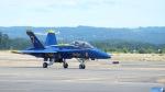 Saeqeh172さんが、ポートランド・ヒルズボロ空港で撮影したアメリカ海軍 F/A-18D Hornetの航空フォト(写真)