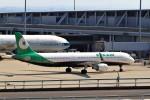 T.Sazenさんが、関西国際空港で撮影したエバー航空 A321-211の航空フォト(飛行機 写真・画像)