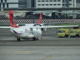 たくらんけさんが、台北松山空港で撮影したトランスアジア航空 ATR-72-600の航空フォト(飛行機 写真・画像)