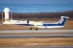 kij niigataさんが、新潟空港で撮影したANAウイングス DHC-8-402Q Dash 8の航空フォト(写真)
