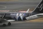 とらとらさんが、羽田空港で撮影したスターフライヤー A320-214の航空フォト(飛行機 写真・画像)