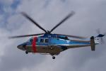 yabyanさんが、名古屋飛行場で撮影した新潟県警察 AW139の航空フォト(飛行機 写真・画像)