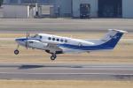 yabyanさんが、名古屋飛行場で撮影したダイヤモンド・エア・サービス 200T Super King Airの航空フォト(写真)