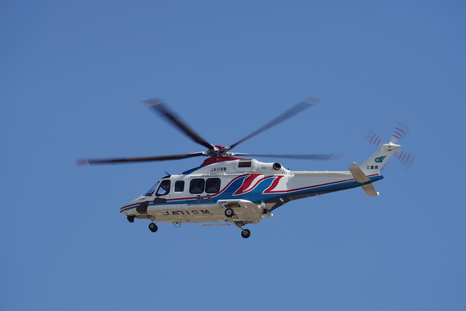 yabyanさんの三重県防災航空隊 AgustaWestland AW139 (JA119M) 航空フォト