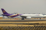 セブンさんが、成田国際空港で撮影したタイ国際航空 A330-343Xの航空フォト(飛行機 写真・画像)