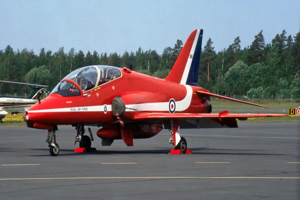 Echo-Kiloさんのイギリス空軍 BAe Hawk (XX284) 航空フォト