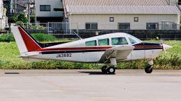 cathay451さんが、八尾空港で撮影した日本個人所有 C23 Sundowner180の航空フォト(飛行機 写真・画像)