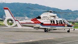 航空見聞録さんが、八尾空港で撮影した広島市消防航空隊 SA365N1 Dauphin 2の航空フォト(飛行機 写真・画像)