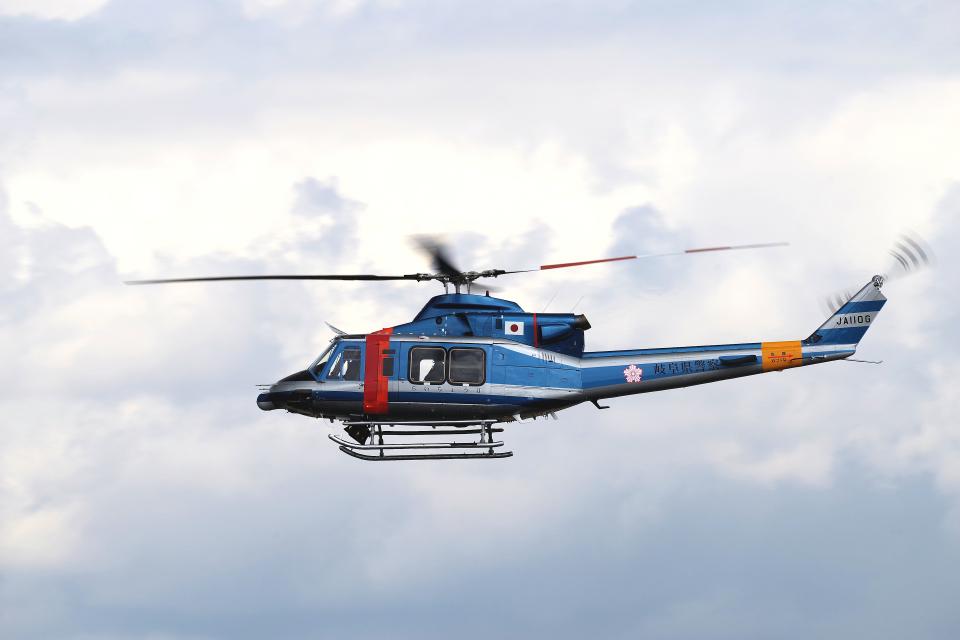 yabyanさんの岐阜県警察 Bell 412 (JA110G) 航空フォト