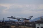 yabyanさんが、名古屋飛行場で撮影したアルペン 525A Citation CJ2の航空フォト(飛行機 写真・画像)