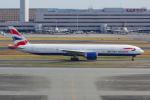 PASSENGERさんが、羽田空港で撮影したブリティッシュ・エアウェイズ 777-336/ERの航空フォト(写真)