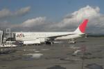 多楽さんが、新千歳空港で撮影した日本航空 767-346の航空フォト(写真)