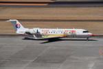 kumagorouさんが、仙台空港で撮影したスパークル・ロール・ジェット CL-600-2B19 Regional Jet CRJ-200ERの航空フォト(飛行機 写真・画像)