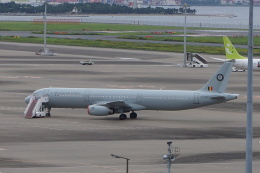 らしまるさんが、羽田空港で撮影したベルギー空軍 A321-231の航空フォト(飛行機 写真・画像)
