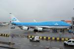 yabyanさんが、アムステルダム・スキポール国際空港で撮影したKLMオランダ航空 747-406の航空フォト(飛行機 写真・画像)