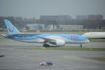 yabyanさんが、アムステルダム・スキポール国際空港で撮影したTUIフライ・ネーデルランド 787-8 Dreamlinerの航空フォト(飛行機 写真・画像)