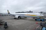 yabyanさんが、アムステルダム・スキポール国際空港で撮影したジェットエアウェイズ 777-35R/ERの航空フォト(飛行機 写真・画像)