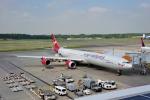 saoya_saodakeさんが、成田国際空港で撮影したヴァージン・アトランティック航空 A340-642の航空フォト(写真)