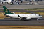 りんたろうさんが、羽田空港で撮影したサウジアラビア財務省 737-7FGの航空フォト(写真)
