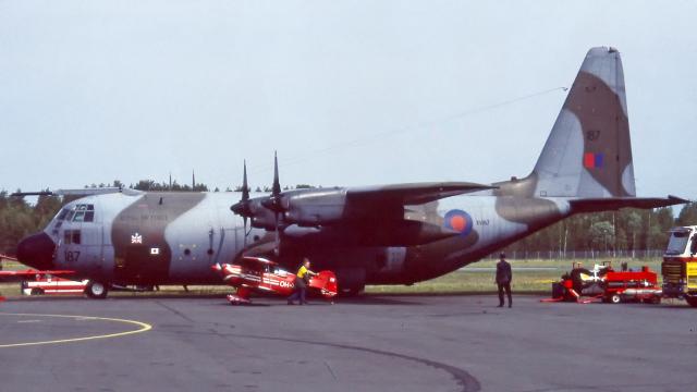 Echo-Kiloさんが、ラッペーンランタ空港で撮影したイギリス空軍 C-130Kの航空フォト(飛行機 写真・画像)