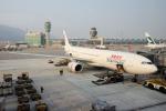 yabyanさんが、香港国際空港で撮影した香港ドラゴン航空 A330-342Xの航空フォト(飛行機 写真・画像)